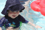 First time in a pool