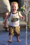 Having Fun at the Fountain