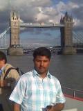 habib in river thames