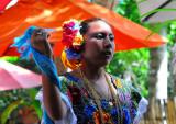 Beaty Charming Dancer in Chichen-Itza