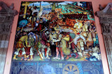 Diego Rivera Frescoes, National Palace, Mexico City