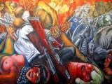 Revolution by Diego Rivera, Mexico City