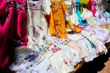 Colourful Embrodery of Yucatan, Palenque
