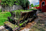 Pulke Wagon is Leaving Hacienda, Yucatan
