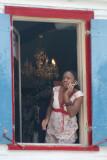 girl at window-Antigua
