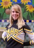 AHS JV Cheerleaders 10-5-09
