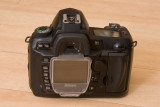 Nikon D70s Rear