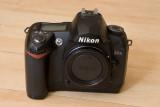 Nikon D70s Front