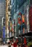 Light dance in Manhattan