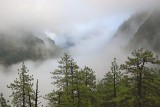 Fog-filled Yosemite Valley 22827