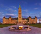 Parliament At Dawn 20090925