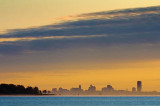 Buffalo Skyline At Sunrise 51943-5