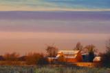 Red Barn At Sunrise 20091102
