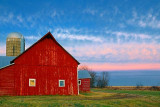Red Barn At Sunrise 20091114