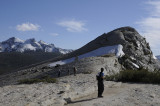 Arrival to the top of Lembert Dome