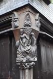 Pignons sculptés