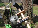C8 mount modified to be a camera platform