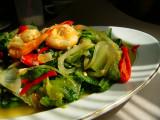 Tumis Selada (Stir fry Lettuce)