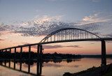 C & D Canal Bridge at Sunrise