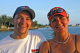 Another Mother - Son moment on the sunset cruise