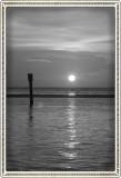 Sunset Cruise - sunset b/w