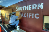 Repainting Southern Pacific