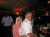 Rene and Dave at Afex Camp bar - May 2009