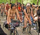 London world naked bike ride 2008