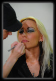 Becky doing MakeUp on Alison