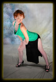 Meryl in Green