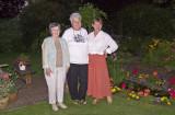 Pat Barbara & Carole taken in our garden