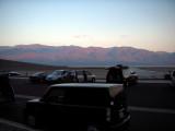 dawn at the Badwater basin