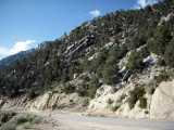 the Whitney portal road, the final13-mile steep climb to the finish line