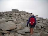 Finally, the summit hut