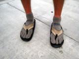 David's feet