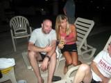 Lisa offers Cory his first Nicaraguan