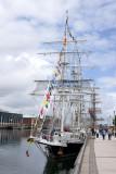 Ships alongside the quay
