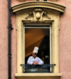 The window which knew all the secrets of high gastronomy...