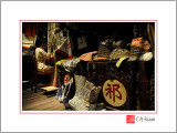 The Backstage of Chinese Opera Theatre