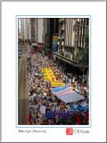 Thirty-Thousand Hongkongers on Street...