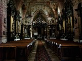 st. Stanislas church in Nowy Korczyn, interior