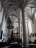 basilica in Wislica - interior