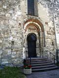 Saint Martin`s Church - romanesque portal