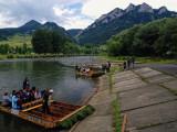 the rafting on Dunajec in Pieniny