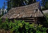 wooden barns in Jurgów