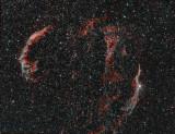 Veil Nebula Complex (Sh2-103, SNR G074.0-08.5)