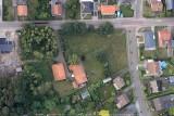 Merksplas, Veldenbergstraat met de oude boerderij Verstraeten en daarover mijn ouderlijk huis