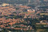 Turnhout, rechts Campus Blairon