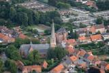 Gierle, kerk en oud gemeentehuis