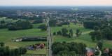 Baan Gierle - Lille - landingsplaats links voor het bosje